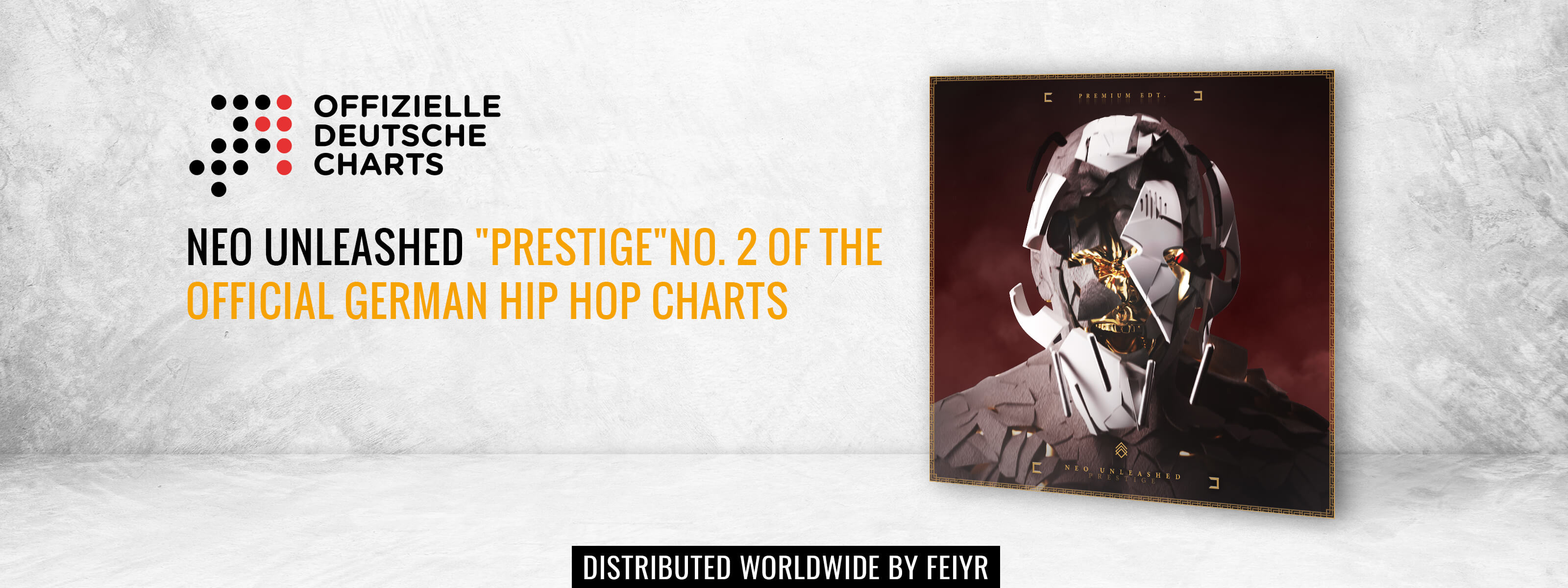 Neu Unleashed Prestige Platz 2 HipHop Charts