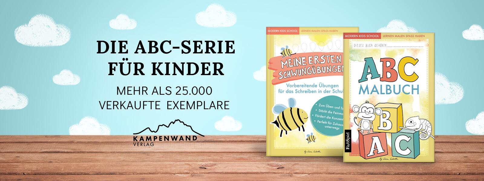 Bestseller! ABC-Lernreihe für Kinder