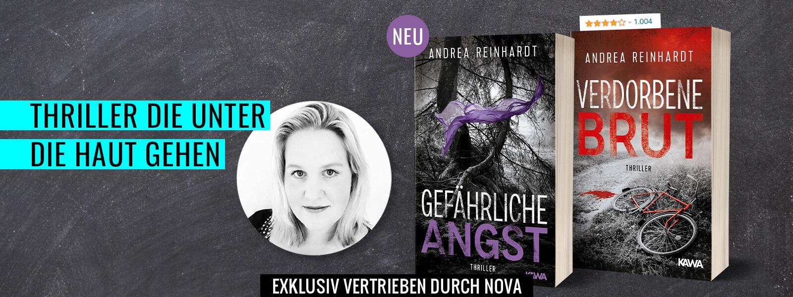 Bestseller-Autorin Andrea Reinhardt Thriller