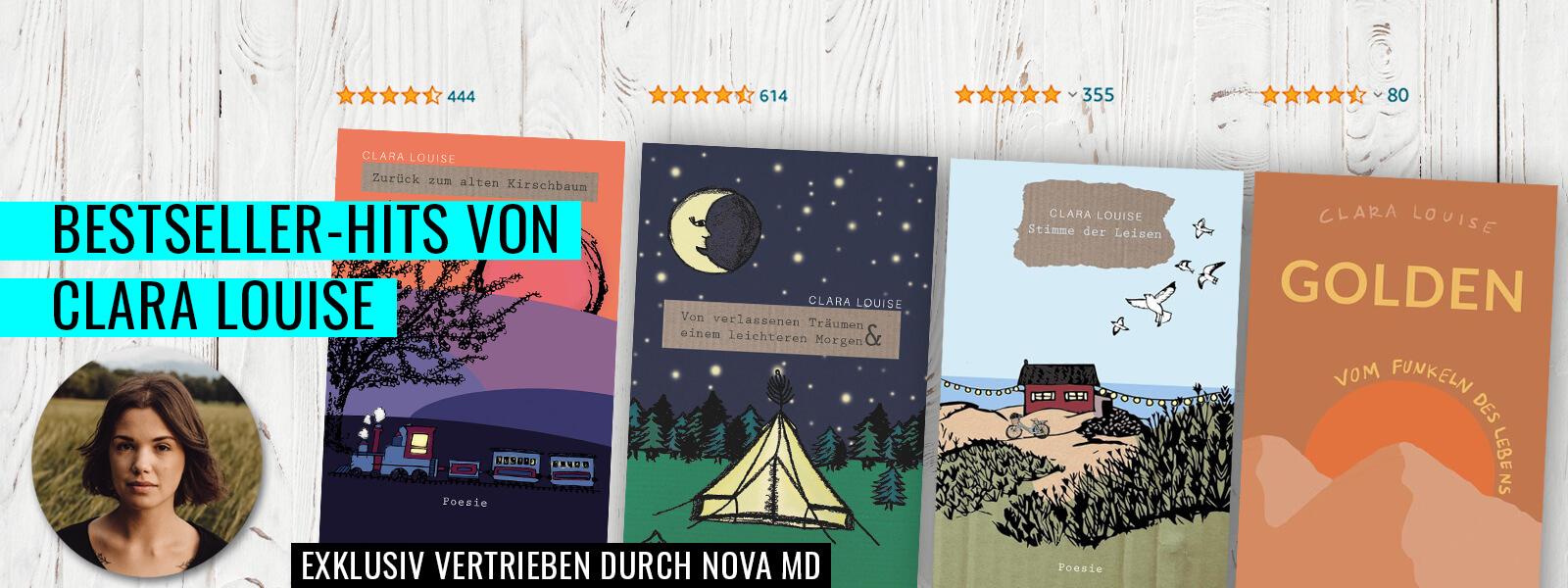Bestseller-Autorin und Musikerin Clara Louise