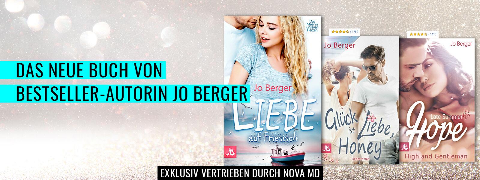 "Jo Bergers neuer Liebesroman ""Liebe auf friesisch"""