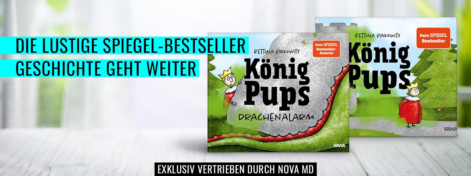 """Bestseller-Kinderbuch """"König Pups"""" von Bettina Rakowitz"""