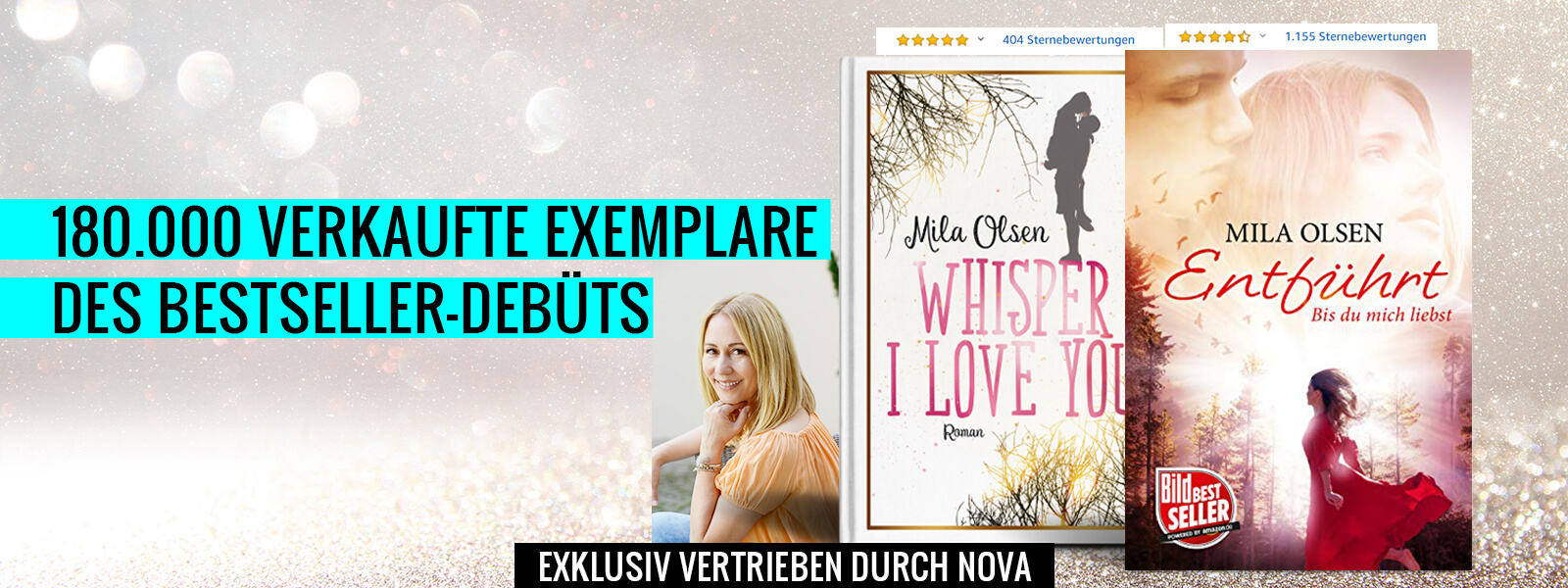 "Bestseller-Autorin Mila Olsen mit ""Whisper I love you"""