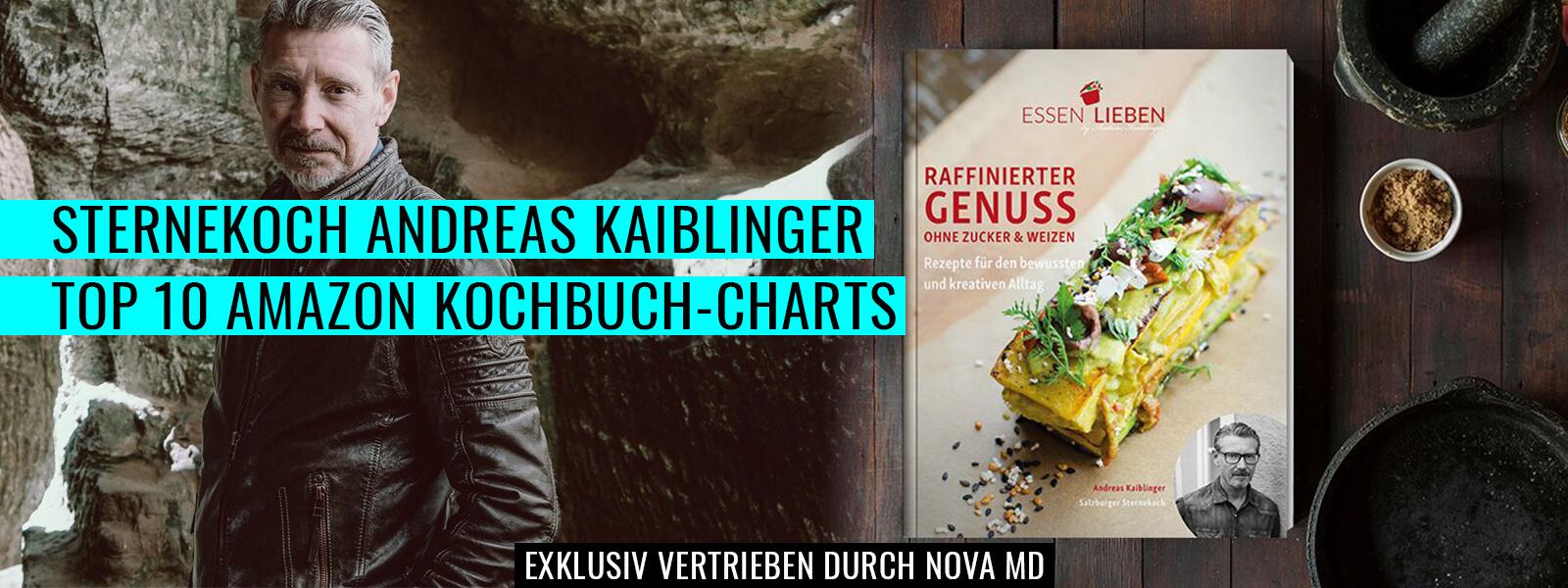 Bestsellerautor und Sternekoch Andreas Kaiblinger