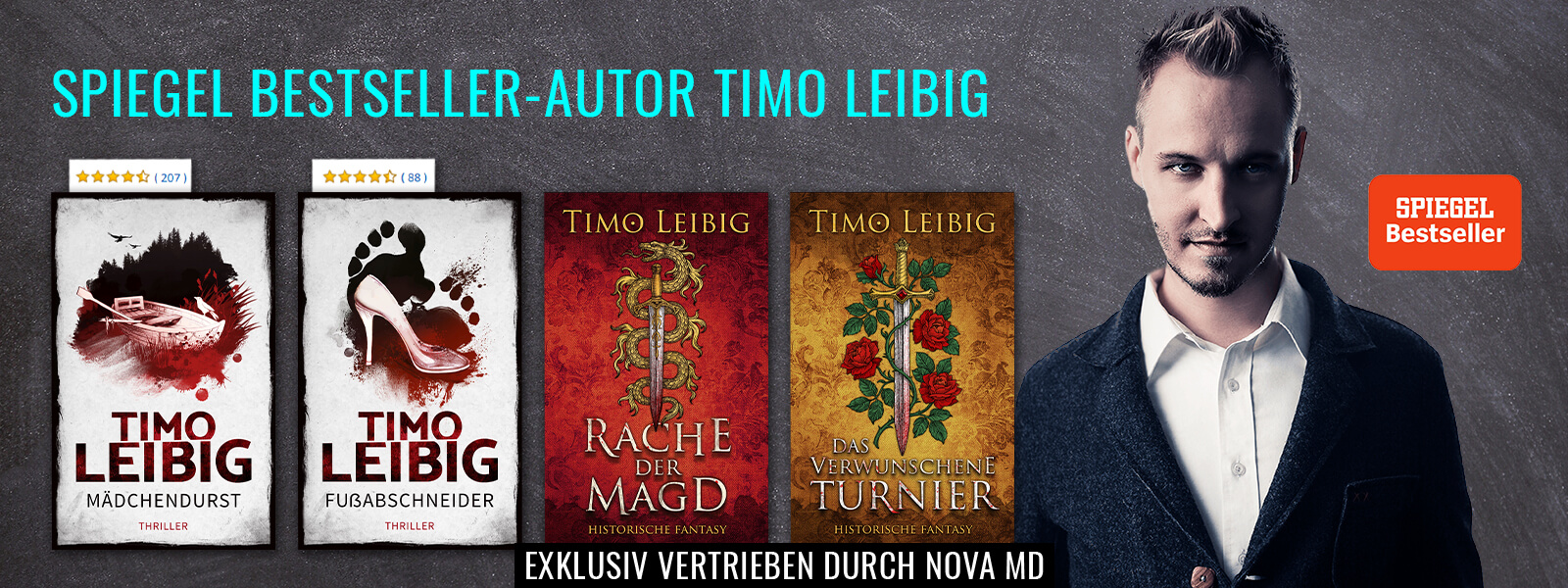 Spiegel-Bestseller-Autor Timo Leibig
