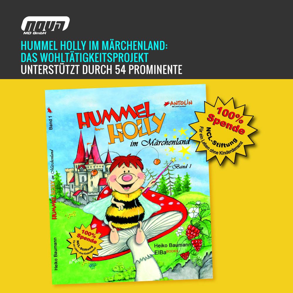 Hummel Holly im Märchenland: Das Wohltätigkeitsprojekt von Heiko Baumann