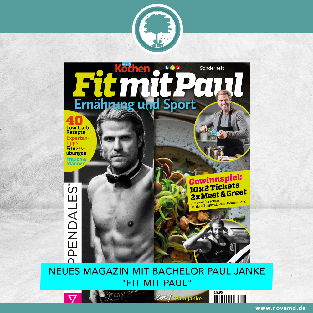 Neu bei Nova MD! Fitness-Tipps mit Bachelor Paul Janke
