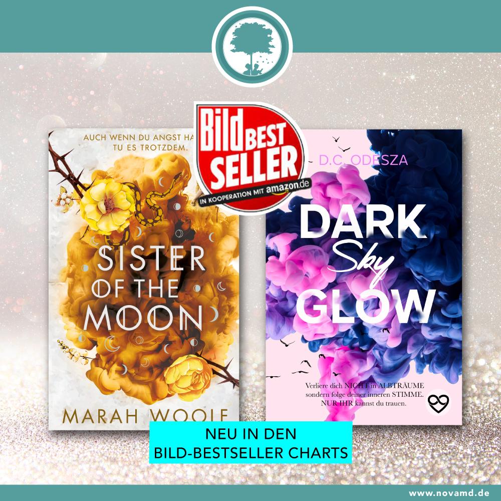 Marah Woolf und D.C. Odesza in den Bild-Bestseller-Charts