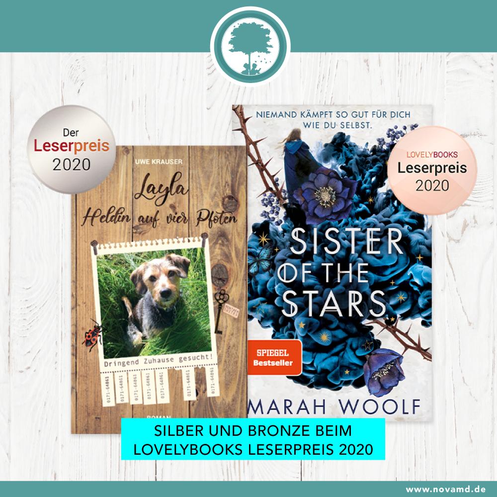 Gewinner des Lovelybooks Leserpreis 2020