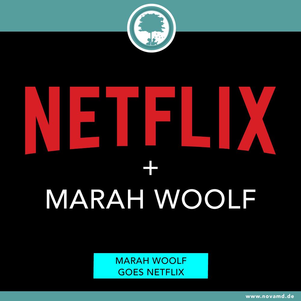 Netflix verfilmt Buchreihe von Autorin Marah Woolf