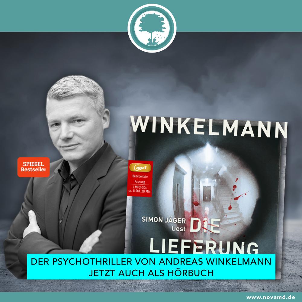"""Das neue Hörbuch von Andreas Winkelmann """"Die Lieferung"""""""