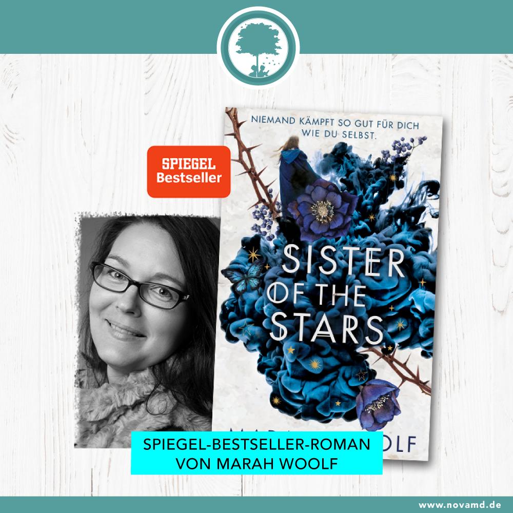 """Spiegel-Bestseller """"Sister of the Stars"""" von Marah Woolf"""