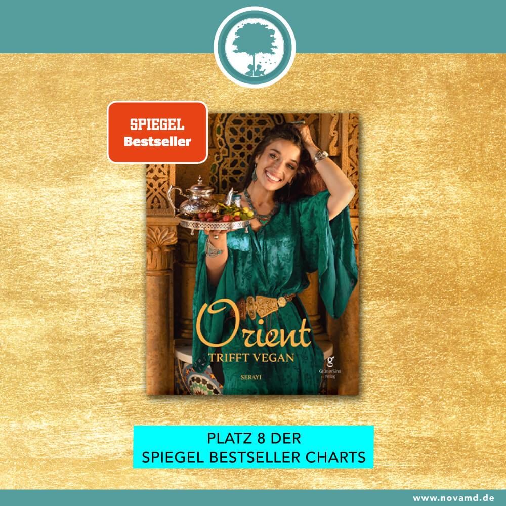 """""""Orient trifft vegan"""" Platz 8 der SPIEGEL Bestseller Charts"""