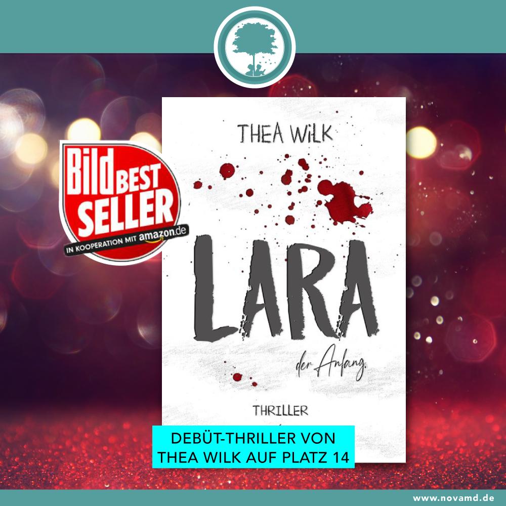 Lara von Thea Wilk in den Bild-Bestseller-Charts