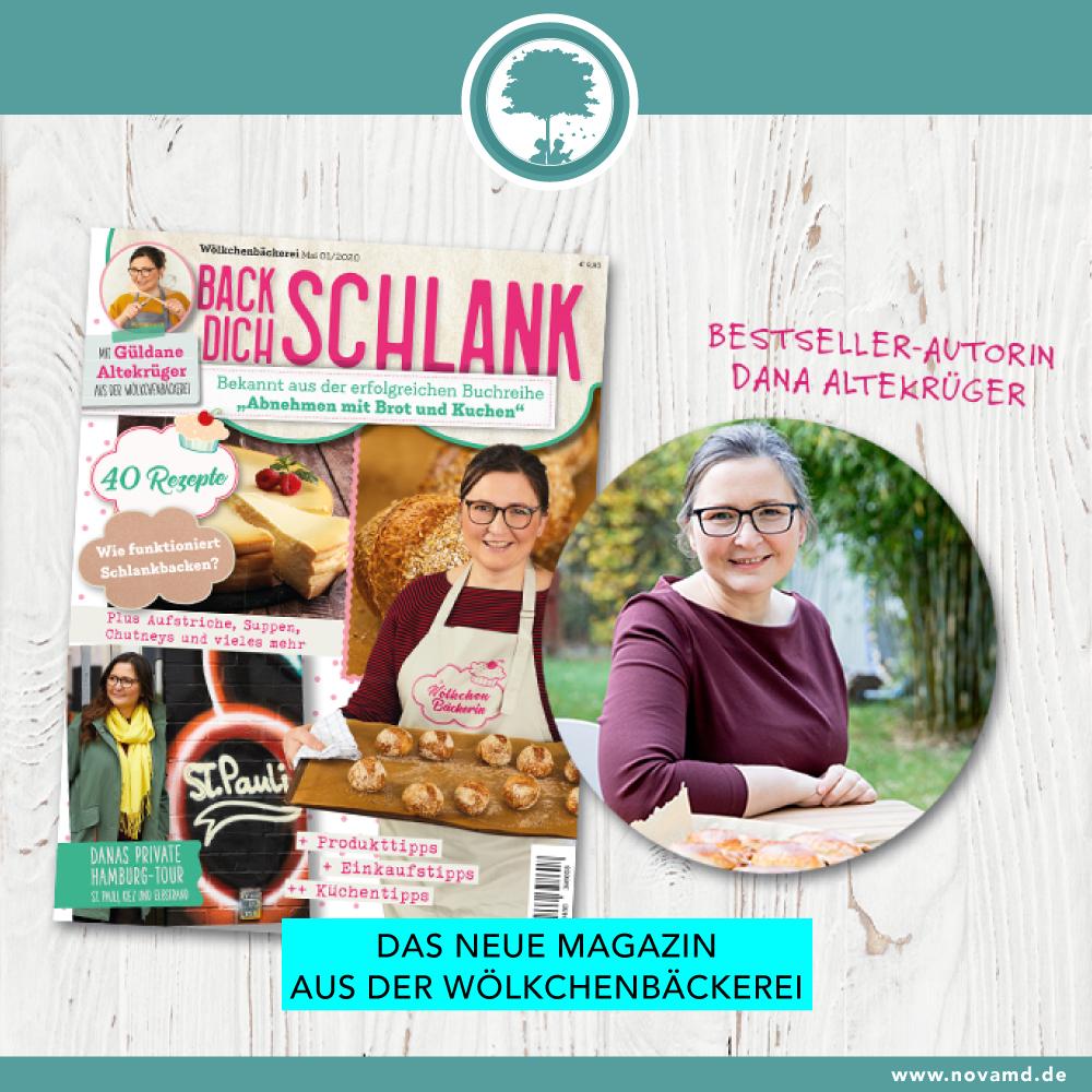 """Das neue Magazin der """"Wölkchenbäckerei"""""""